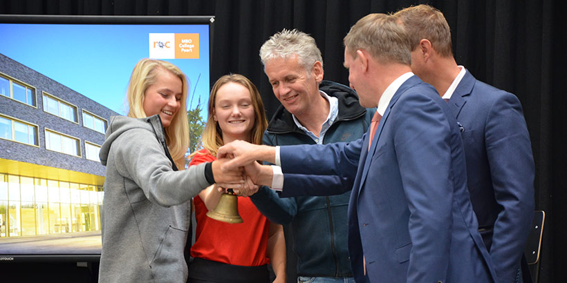 MBO College Poort officieel geopend