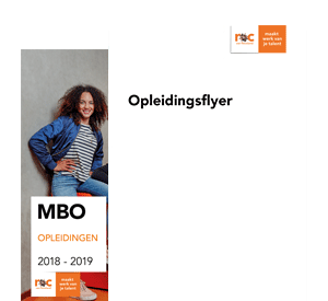 Entertainer opleidingsflyer