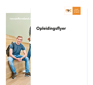 Medewerker Marketing & Communicatie (Flex-opleiding) opleidingsflyer